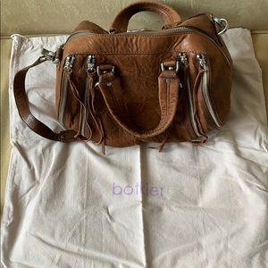 Botkier Brown Leather Satchel